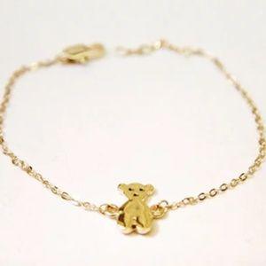 Tiny Teddy Bear Necklace/Bracelet, Handmade 🌸
